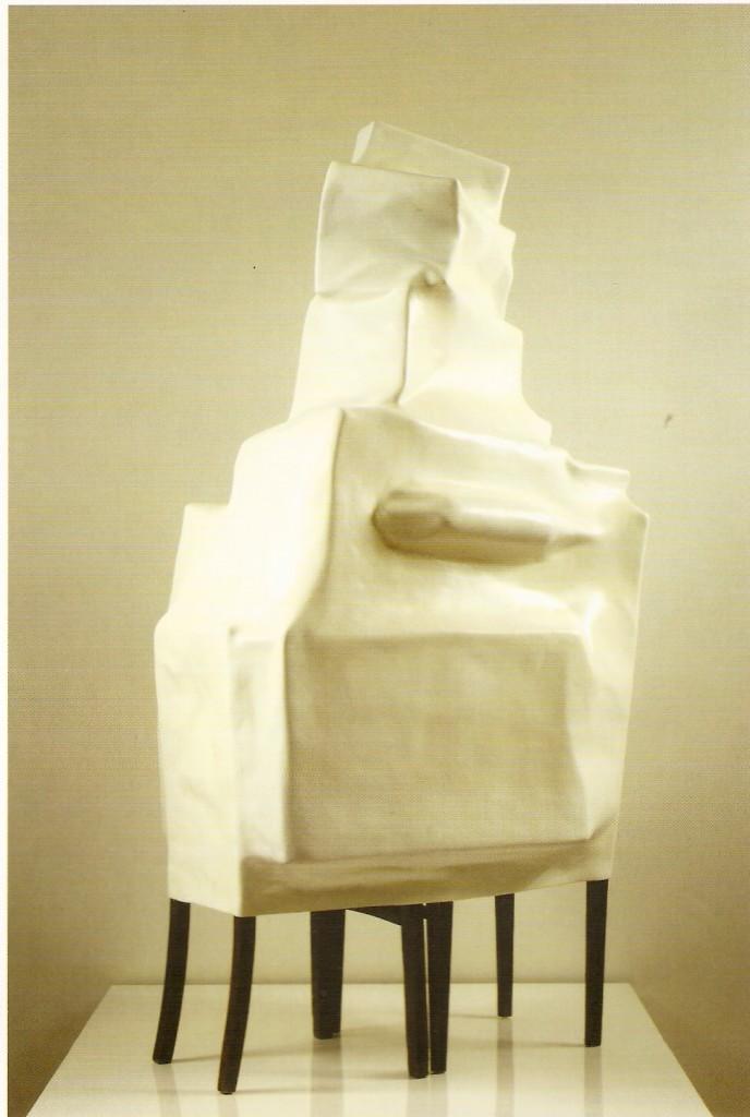 Madeira e Fibra de Vidro, 210X150X100 cm