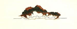 Guache (28x76cm)