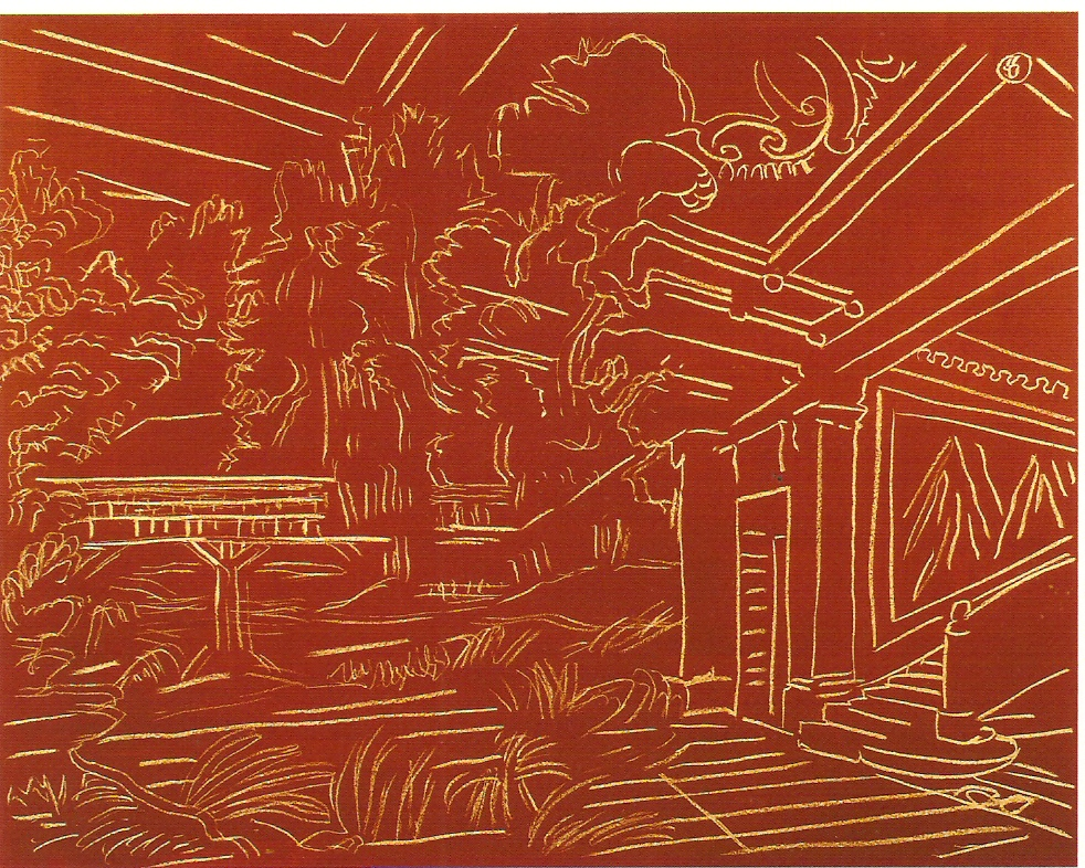 Pastel Seco e Acrílico s/ papel, 120x160cm