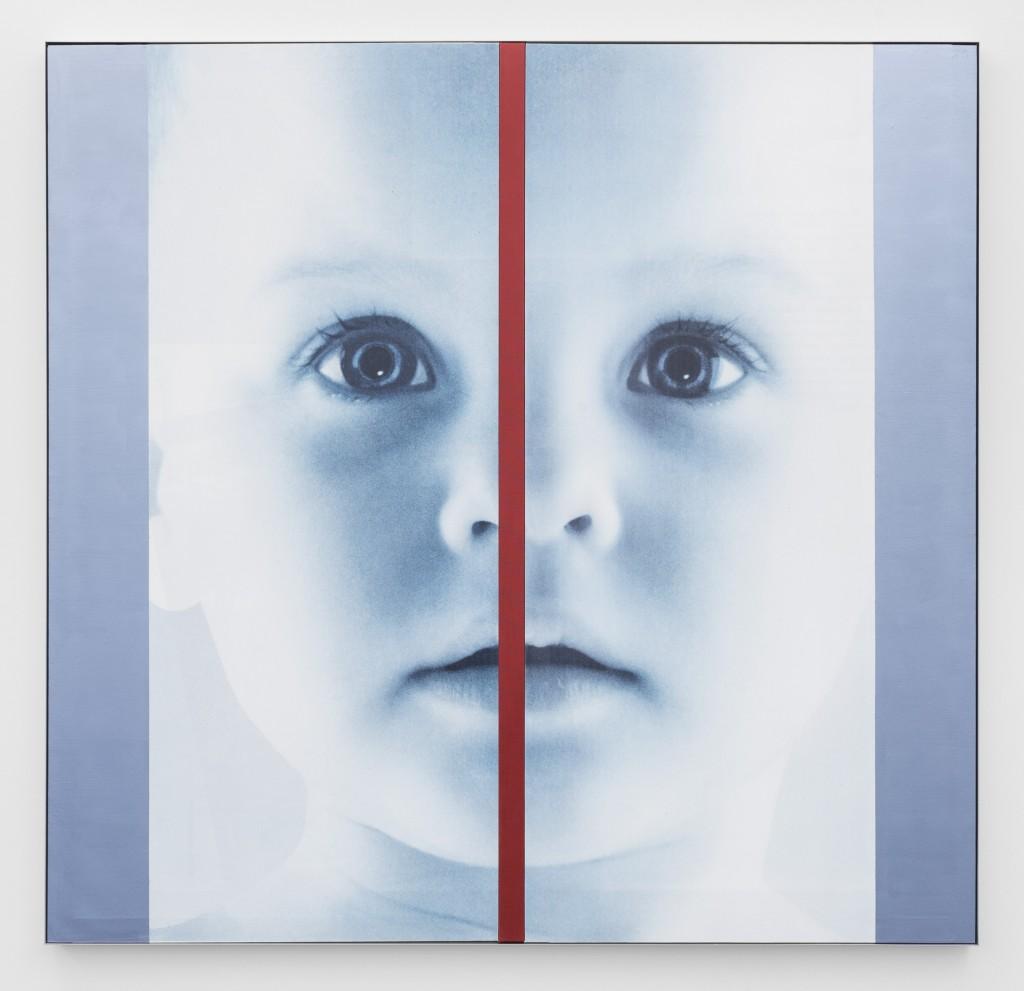 Impressão UV e acrílico sobre tela 160 x 166 x 5 cm