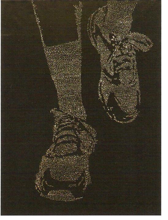 Acrílico sobre papel 4x (200x150 cm)