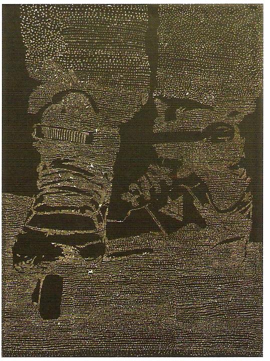 Acrílico sobre papel, 4x (200x150 cm)