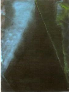 Óleo e Spray sobre papel 120 x 90cm