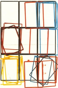 Guache sobre papel, 240x160 cm