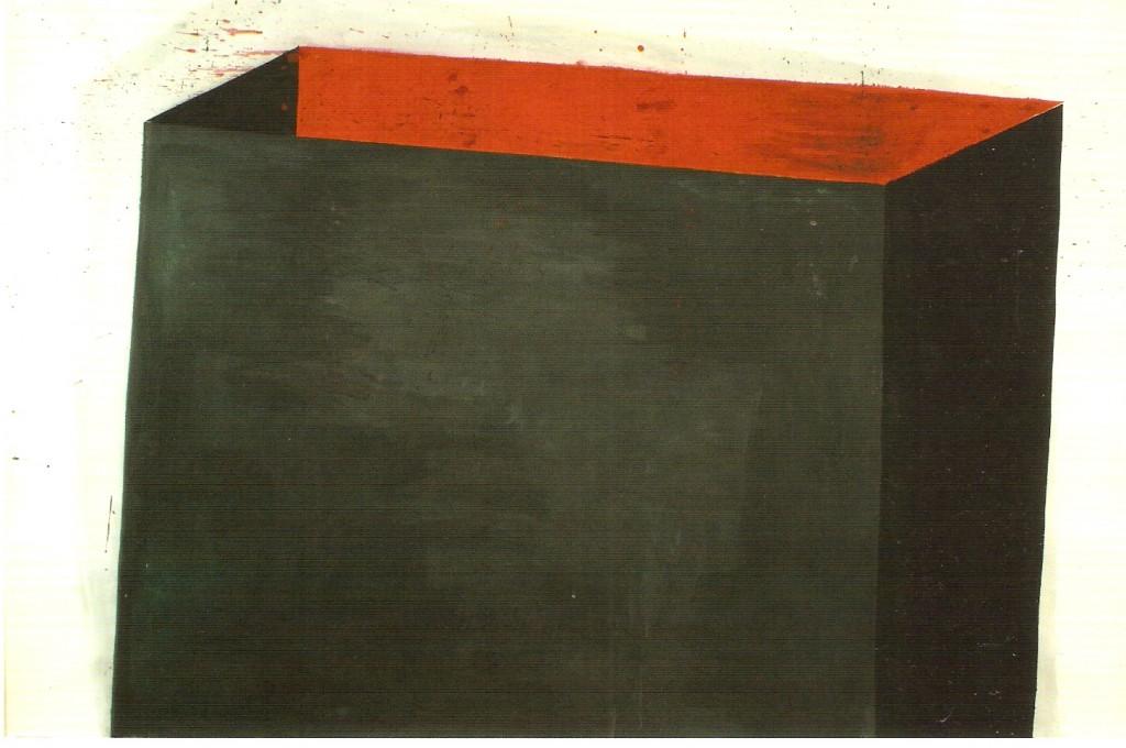 Guache sobre papel,  150x230 cm