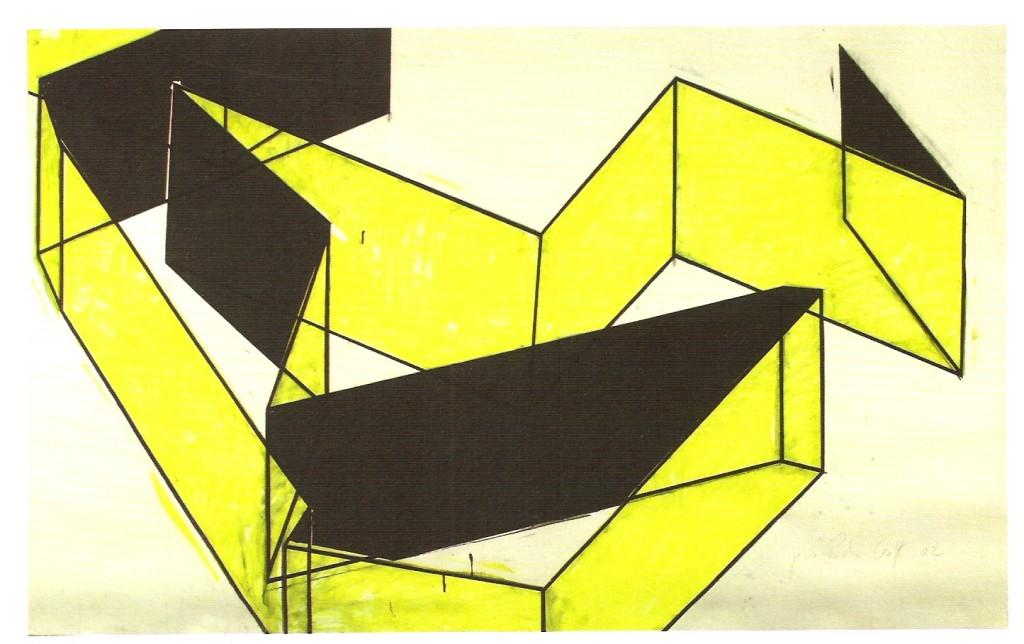Guache sobre papel, 160x225 cm