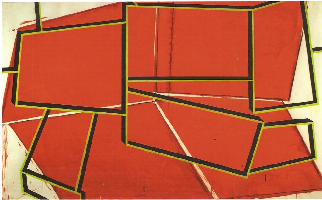 Guache sobre papel, 160x250 cm