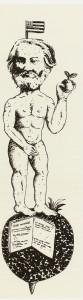 Tinta-da-china sobre papel, 157 x 50 cm