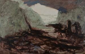 Sem título, 2012 Óleo sobre tela,200 x 300 cm